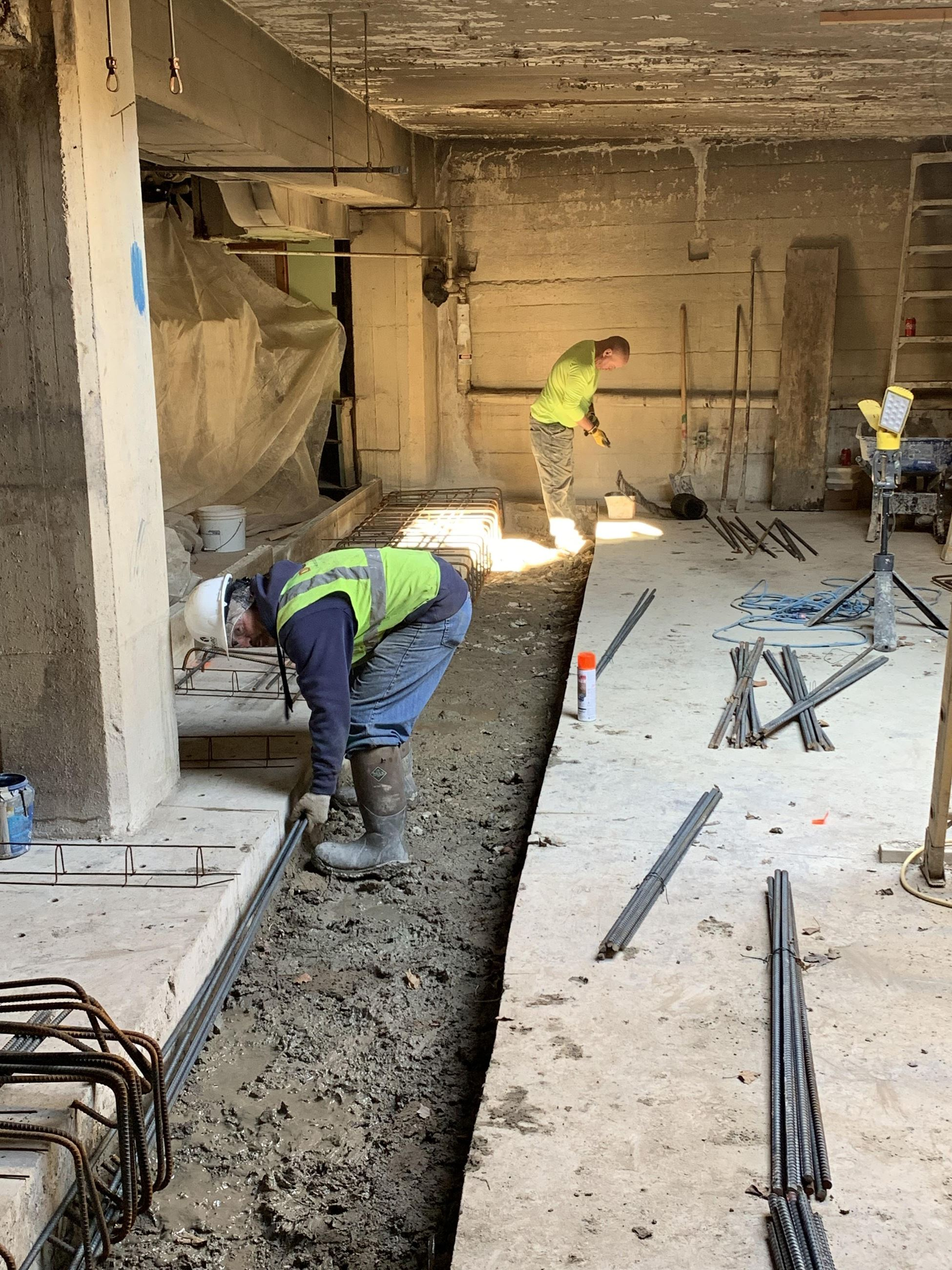520 Vault - Footing Construction 5