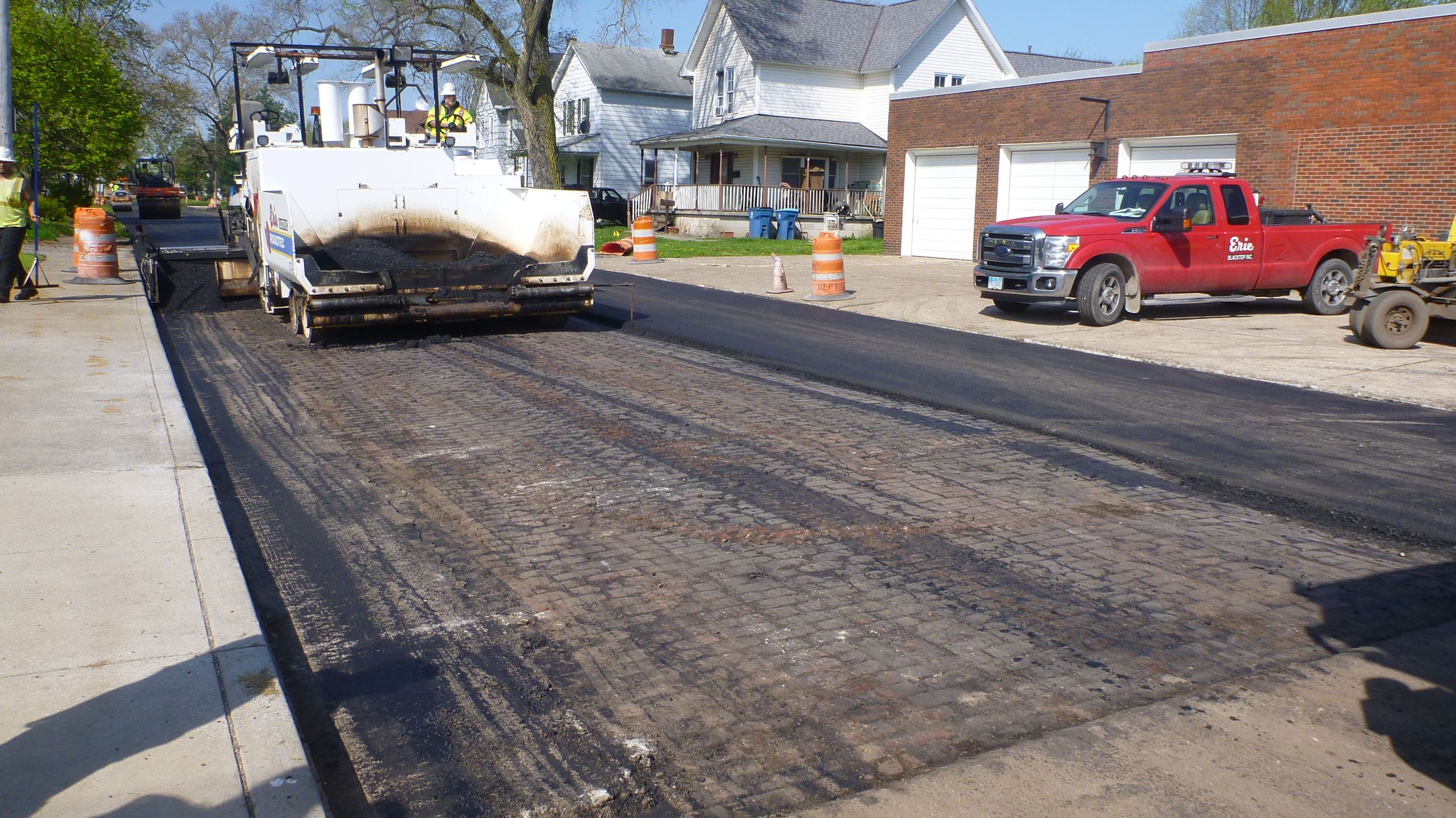 10th St. Paving
